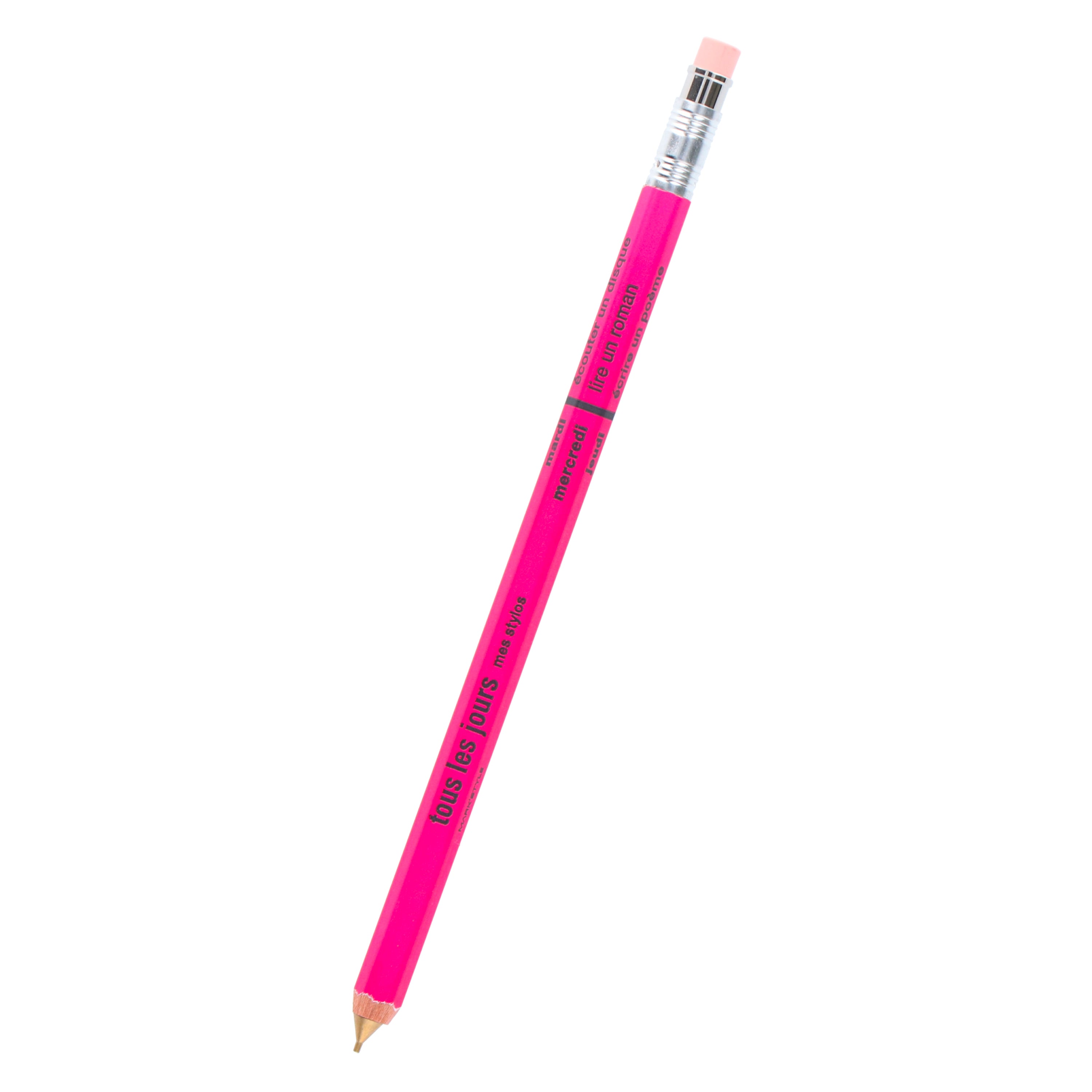 DAY Mechanical Pencil with Eraser / Pink