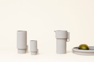 Form&Refine // Alcoa Vase Small // Grey