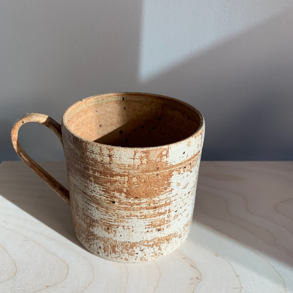 Blacksmith Ceramics // Large Mug // Tan