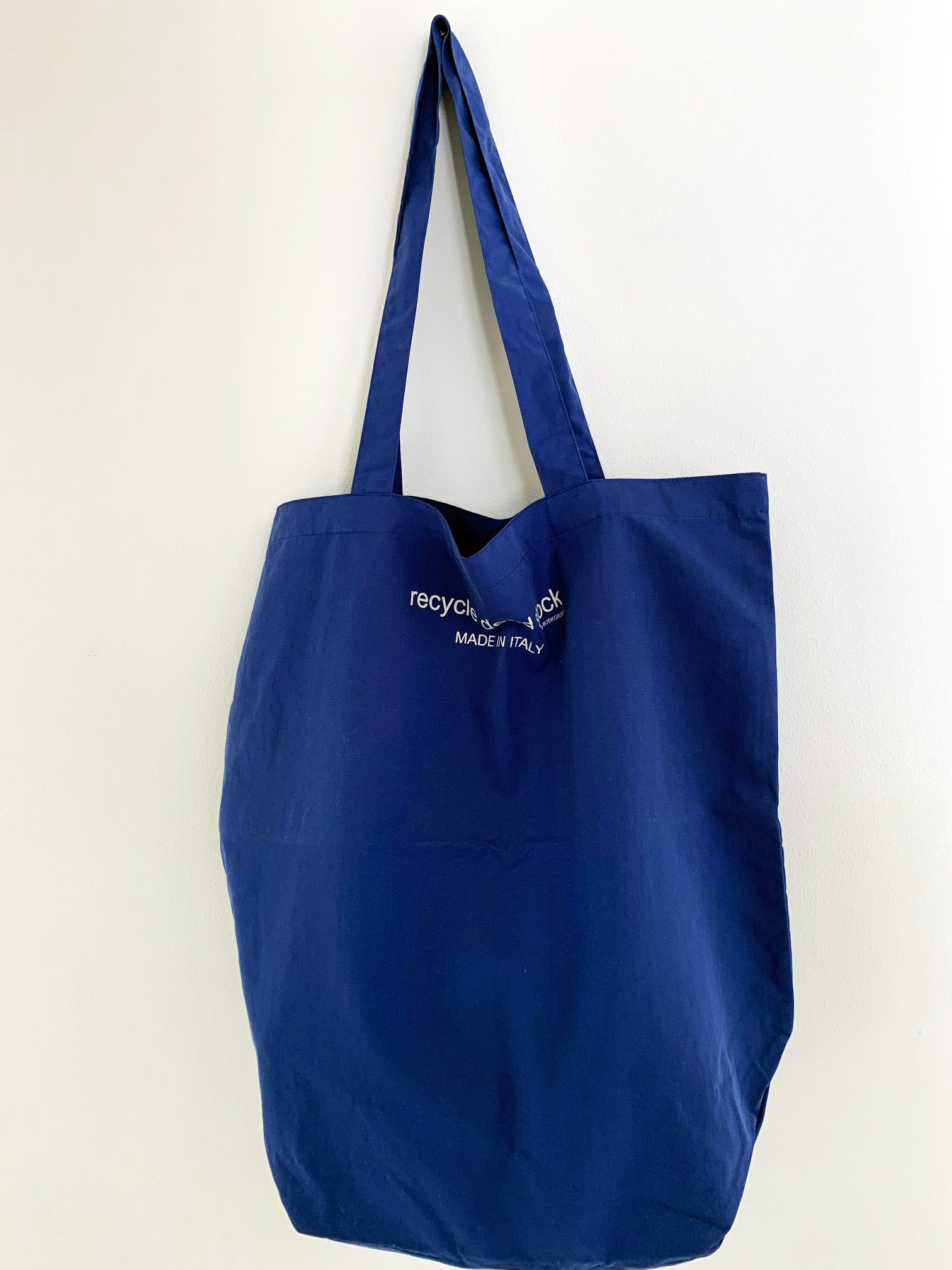 Recycle Dead Stock // Bag // Cobolt Blue