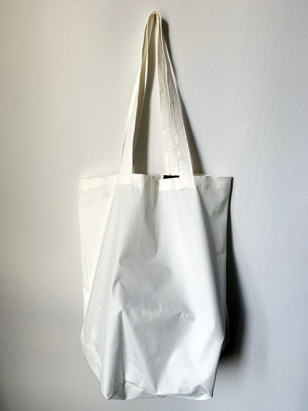 Recycle Dead Stock // Bag // White