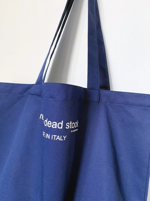 Recycle Dead Stock // Bag // Indigo Blue