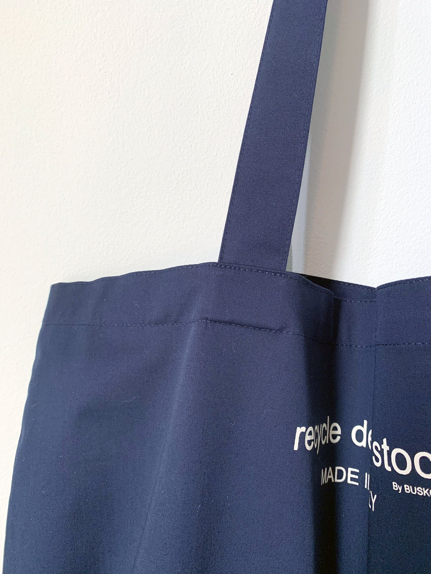 Recycle Dead Stock // Bag // Midnight Blue