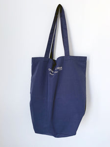 Recycle Dead Stock // Bag // Blue