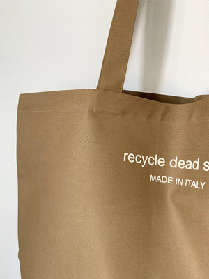 Recycle Dead Stock // Bag // Mustard