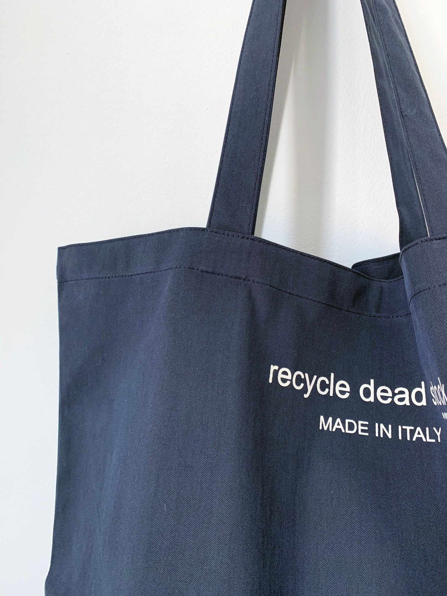 Recycle Dead Stock // Bag // Smoked Blue Black
