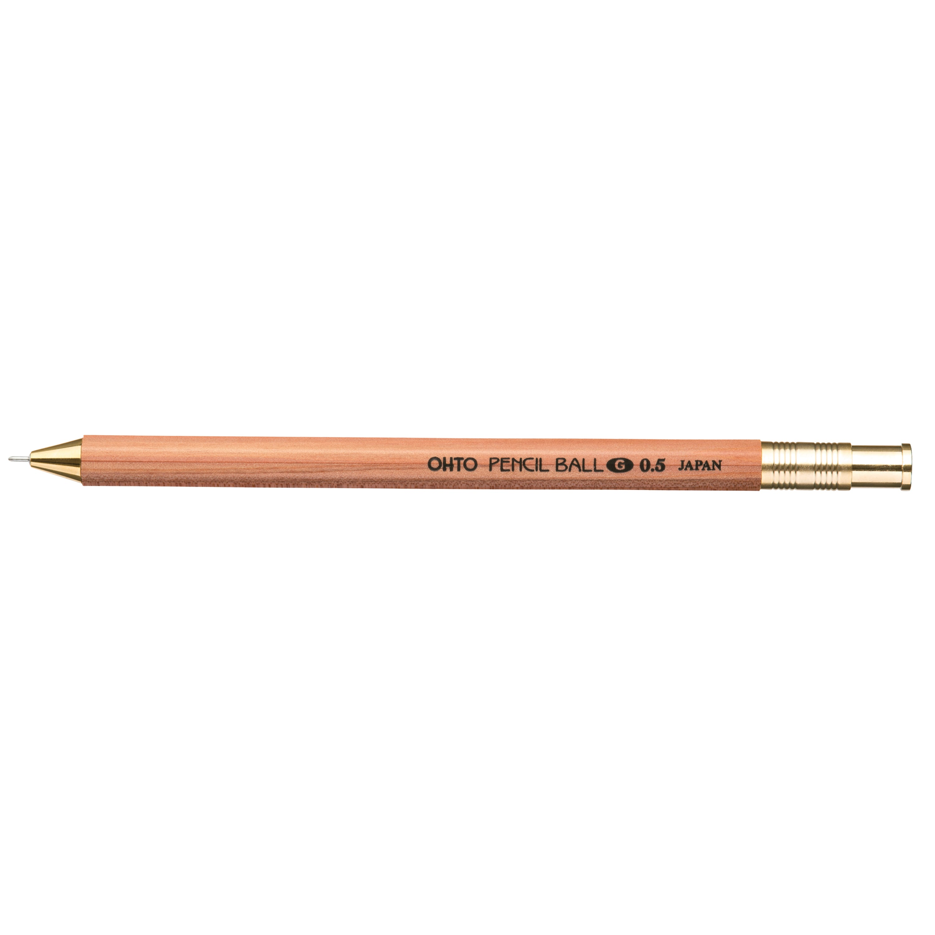 OHTO Pencil Ball G 0.5 Pen / Natural
