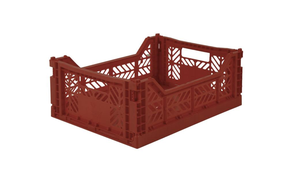 Aykasa Folding Crate Midi / Tile Red