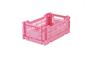 Aykasa Folding Crate Mini / Baby Pink