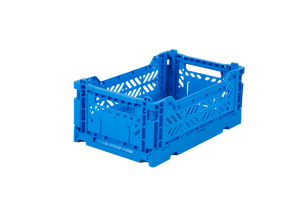 Aykasa Folding Crate Mini / Electric Blue