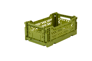 Aykasa Folding Crate Mini / Olive