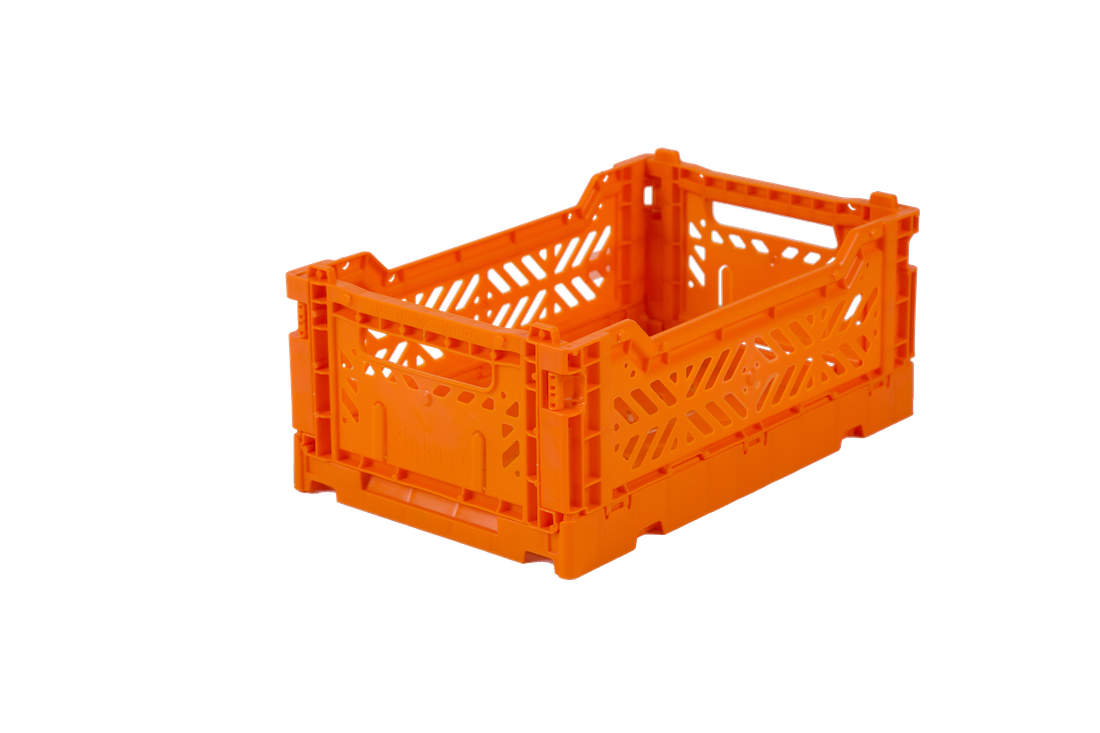 Aykasa Folding Crate Mini / Orange