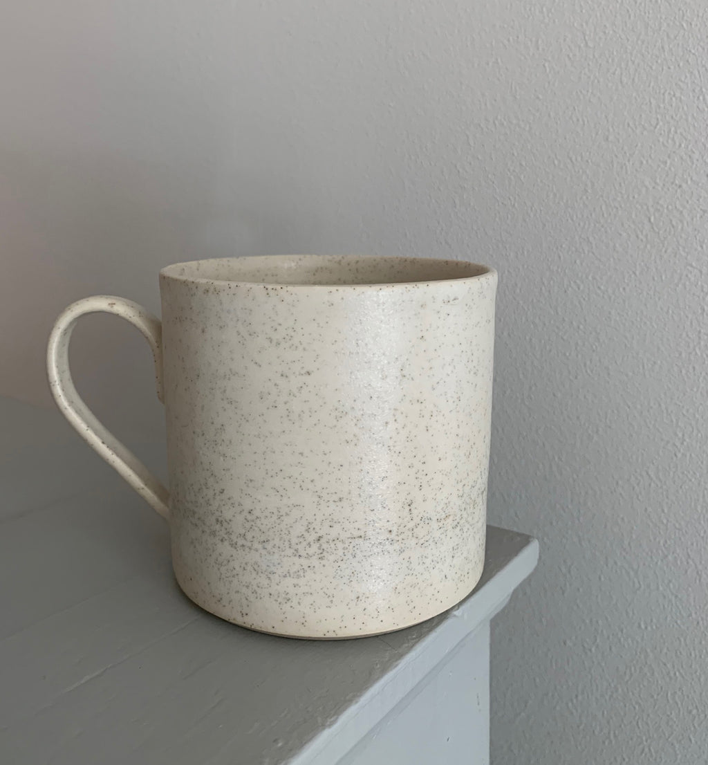 Blacksmith Ceramics // Large Mug // White