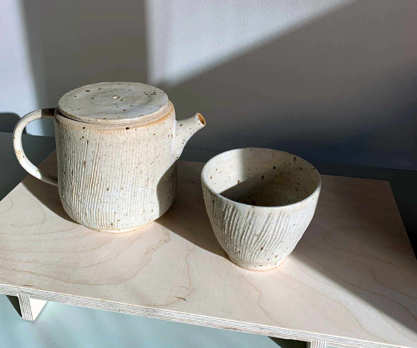Blacksmith Ceramics // Cup // White