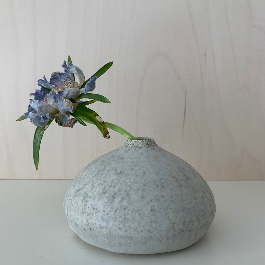Blacksmith Ceramics // Small Vase // White no. 08