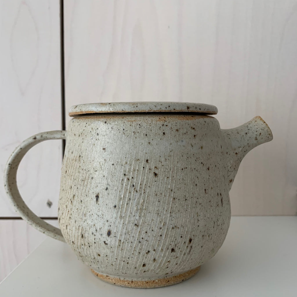 Blacksmith Ceramics // Teapot // White // Small