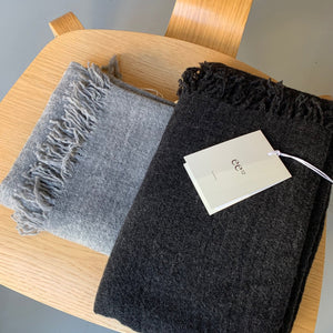 ee12 // Cashmere Scarf // Grey