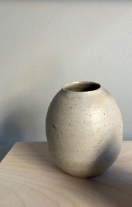 Blacksmith Ceramics // Small Vase // White no. 02
