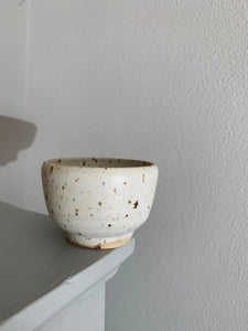 Blacksmith Ceramics // Sake bowl // White smooth