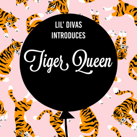 Tiger Queen Collection by Lil' Divas DanceWear