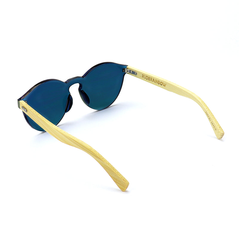 Black Bamboo Sunglasses - Rude Rainbow Gay Party Summer