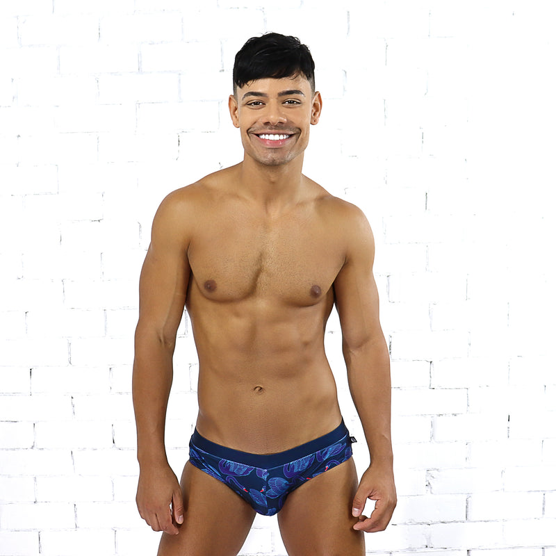 Swanky Swan Swim Brief - Rude Rainbow Gay Party Summer