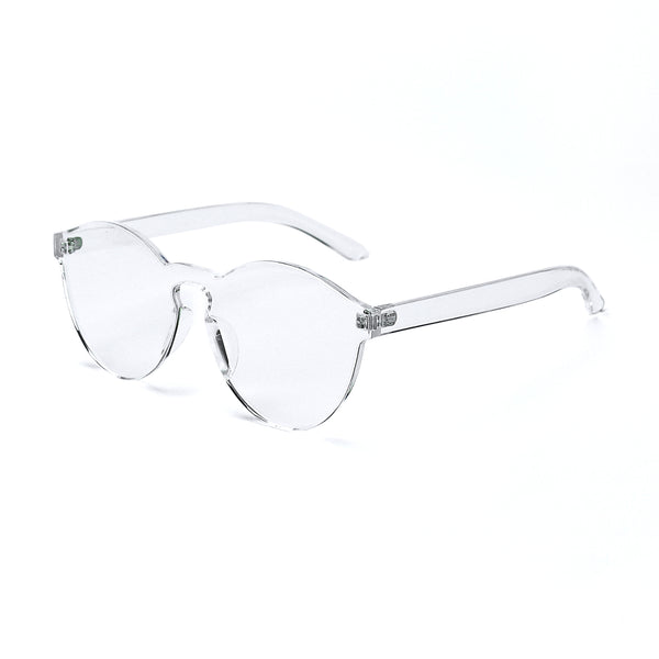 Clear Jelly Sunglasses - Rude Rainbow Gay Party Summer