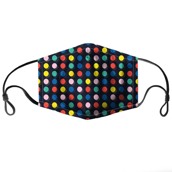 Coloured Dots Reusable PM2.5 Face Mask
