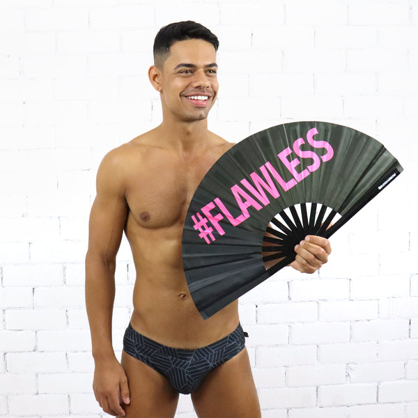 Flawless UV Party Fan