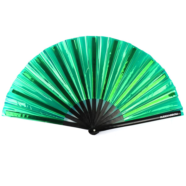 Reflective Party Fan - Green