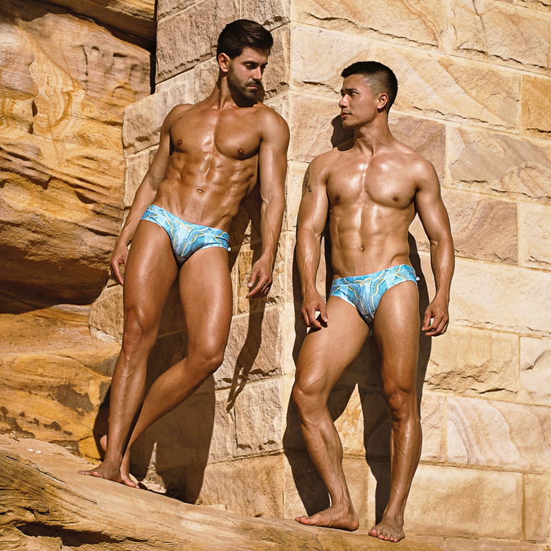 Aqua Moth Swim Brief