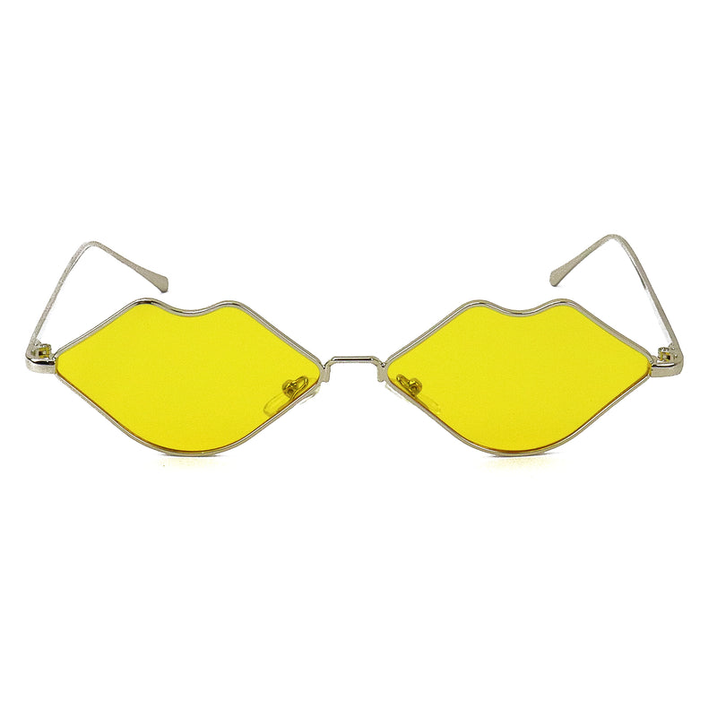 Lavish Lips Eyewear - Yellow