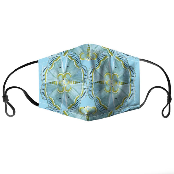 Aqua Moth Reusable PM2.5 Face Mask