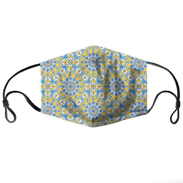 Pretty Paisley Reusable PM2.5 Face Mask