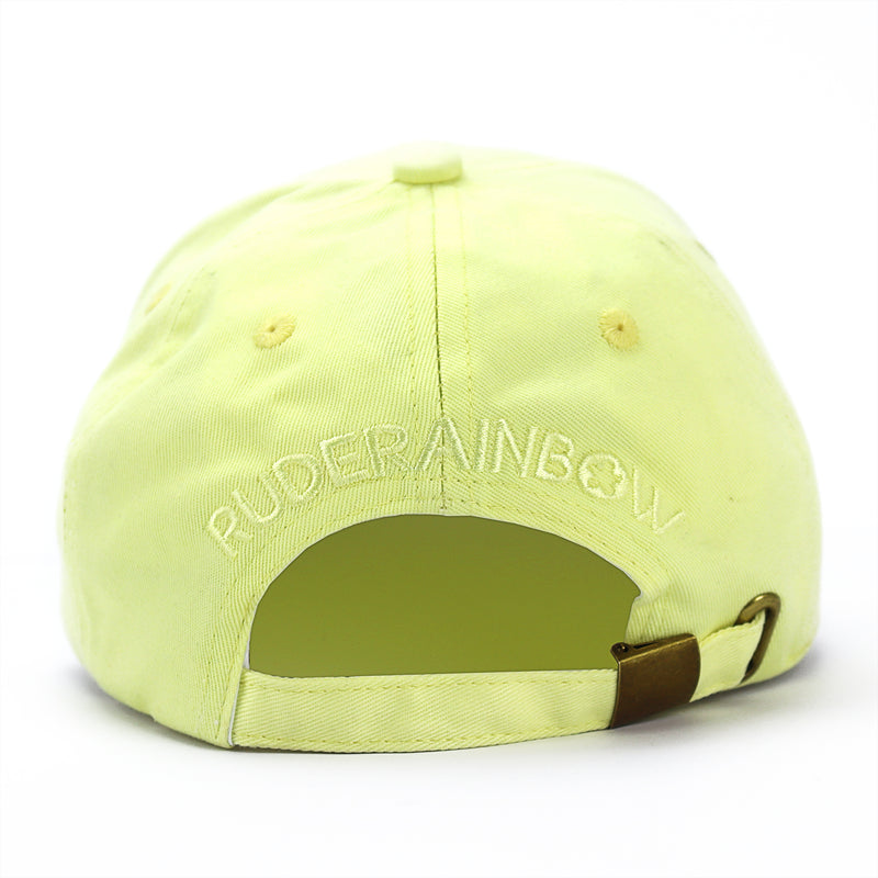 Pastel Yellow Banana Cap - Rude Rainbow Gay Party Summer