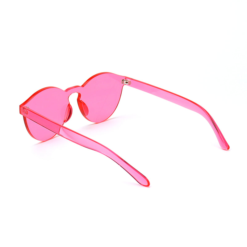Pink Jelly Sunglasses - Rude Rainbow Gay Party Summer