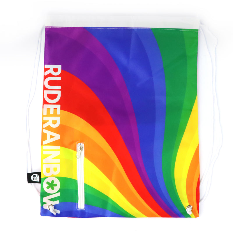 Rainbow Pride Drawstring Bag