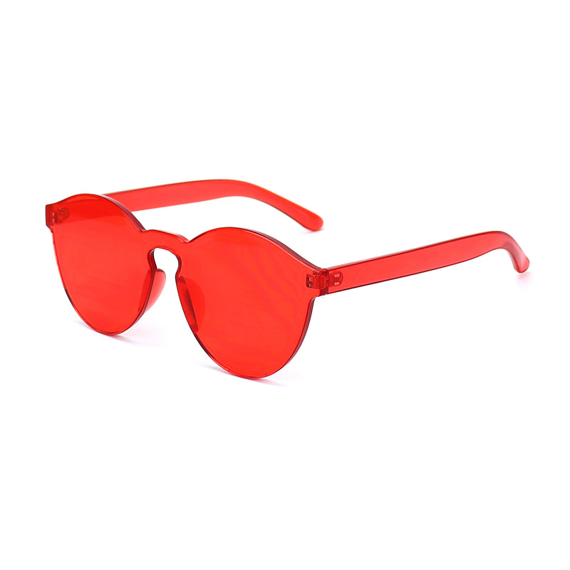 Red Jelly Sunglasses - Rude Rainbow Gay Party Summer