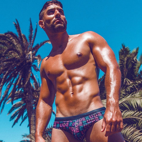 Rude Neon Swim Brief