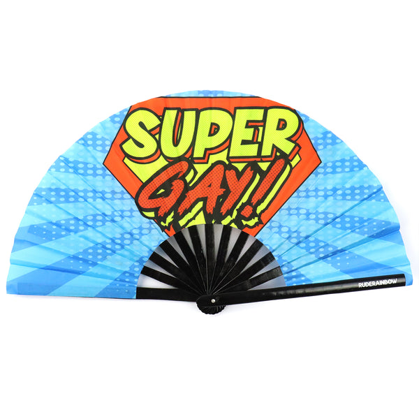 Super Gay UV Party Fan