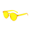 Jelly Sunglasses - Yellow/Orange