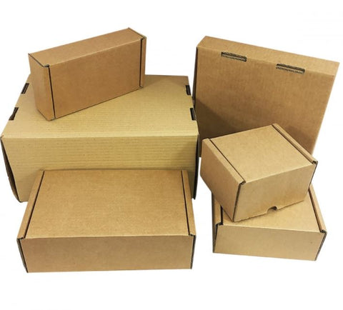Brown Postal Cardboard boxes