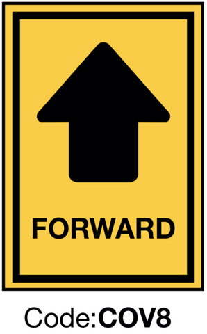 Forward Directional Sign