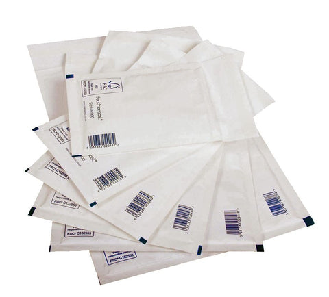 Featherpost Size E/2 White Padded Envelopes 240mm x 275mm