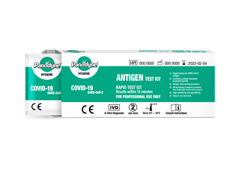 PACK OF 10 -  COVID-19 ANTIGEN (SWAB) RAPID TEST KIT 3-5 WORKING DAYS DELIEVERY