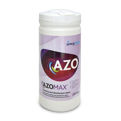 AzoMax™ Cleaning & Disinfection Wipes - Pack of 200