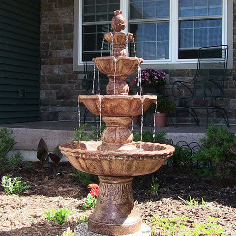 4-Tier Pineapple Fountain