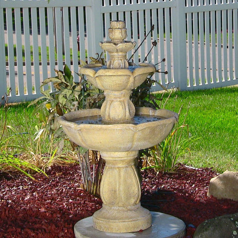 Birds Delight Outdoor Water Fountain - ZenWaterFountains.com  - 1