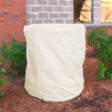 "Heavy Duty38"" x 70"" Beige Water Fountain Cover"