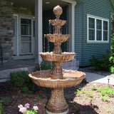 Large Tiered Ball Outdoor Fountain